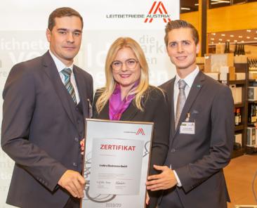 Zertifikatsverleihung Leitbetriebe 2019 625x410